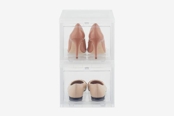 The Container Store Women's Drop-Front Shoe Box