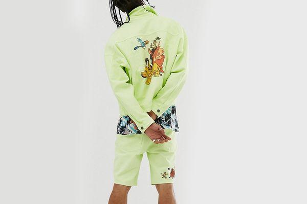 Disney The Lion King x ASOS DESIGN Oversized Denim Jacket