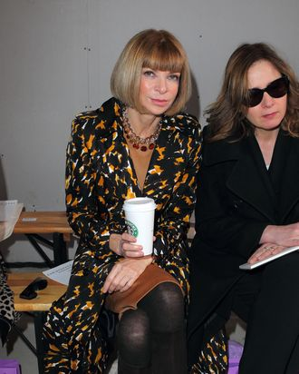 Anna Wintour. Coffee. Photo: Getty Images/Mike Marsland/Contributor