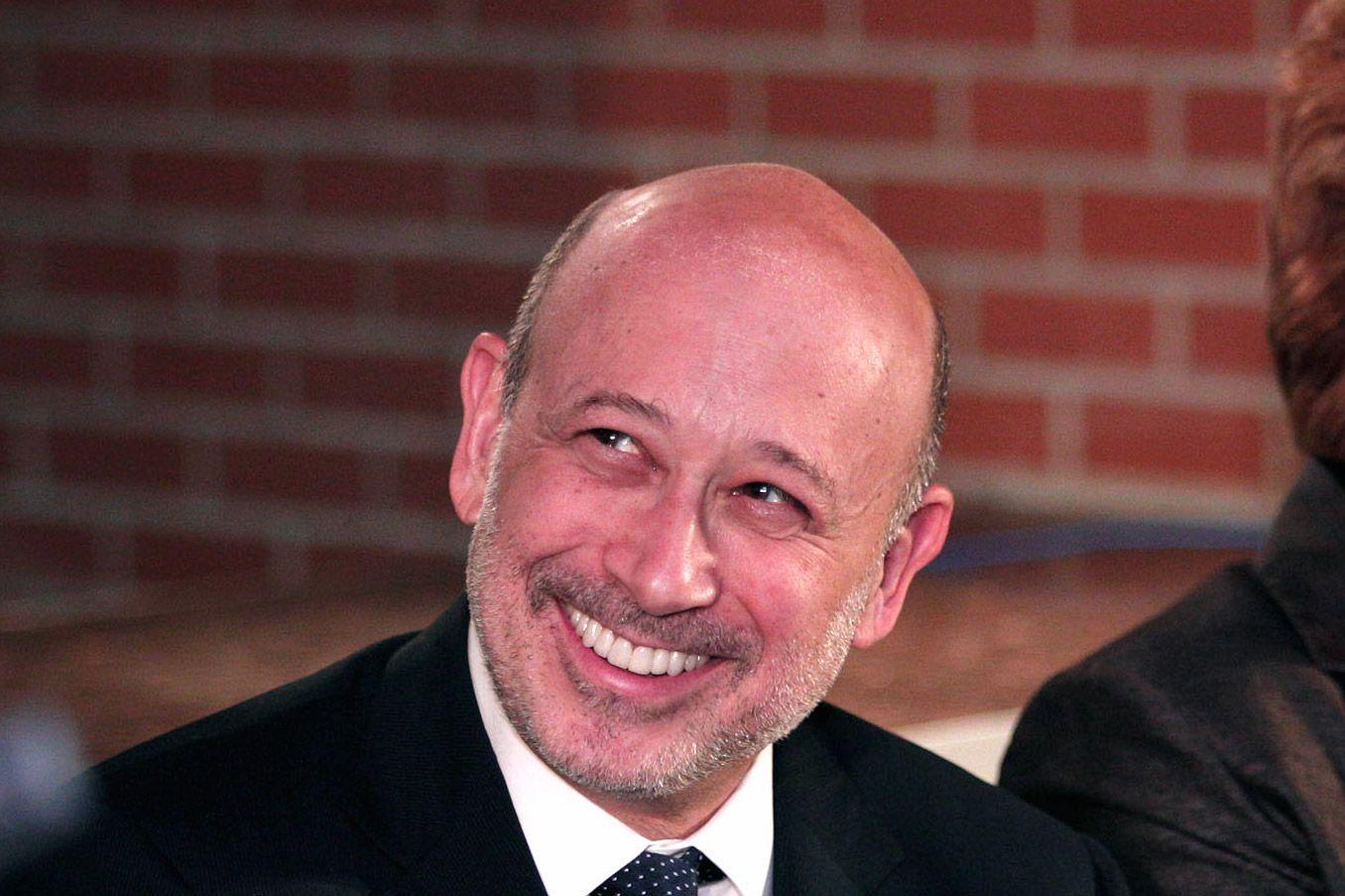Lloyd Blankfein, CEO of Goldman Sachs