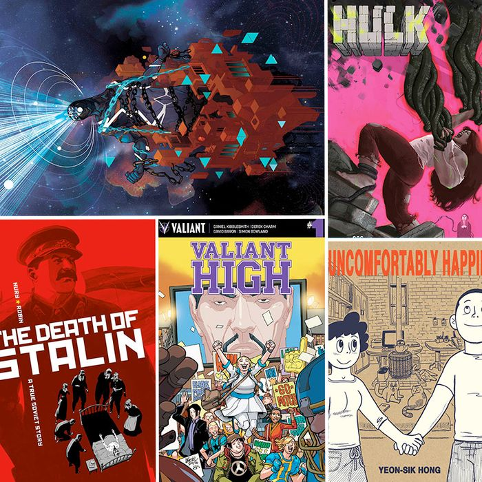 Daily Features Thursday June 8 2017: 8 Comics You Need To Read This June