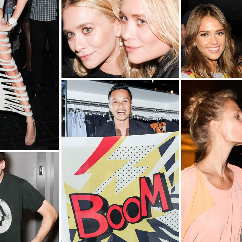Party Pics: Fashion Week Kicks Off With Olsens, Sequins, and