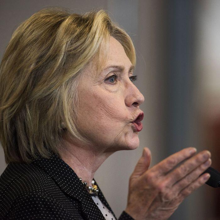 Presumptive Democratic Presidential Nominee Hillary Clinton Delivers Economic Speech In Ohio