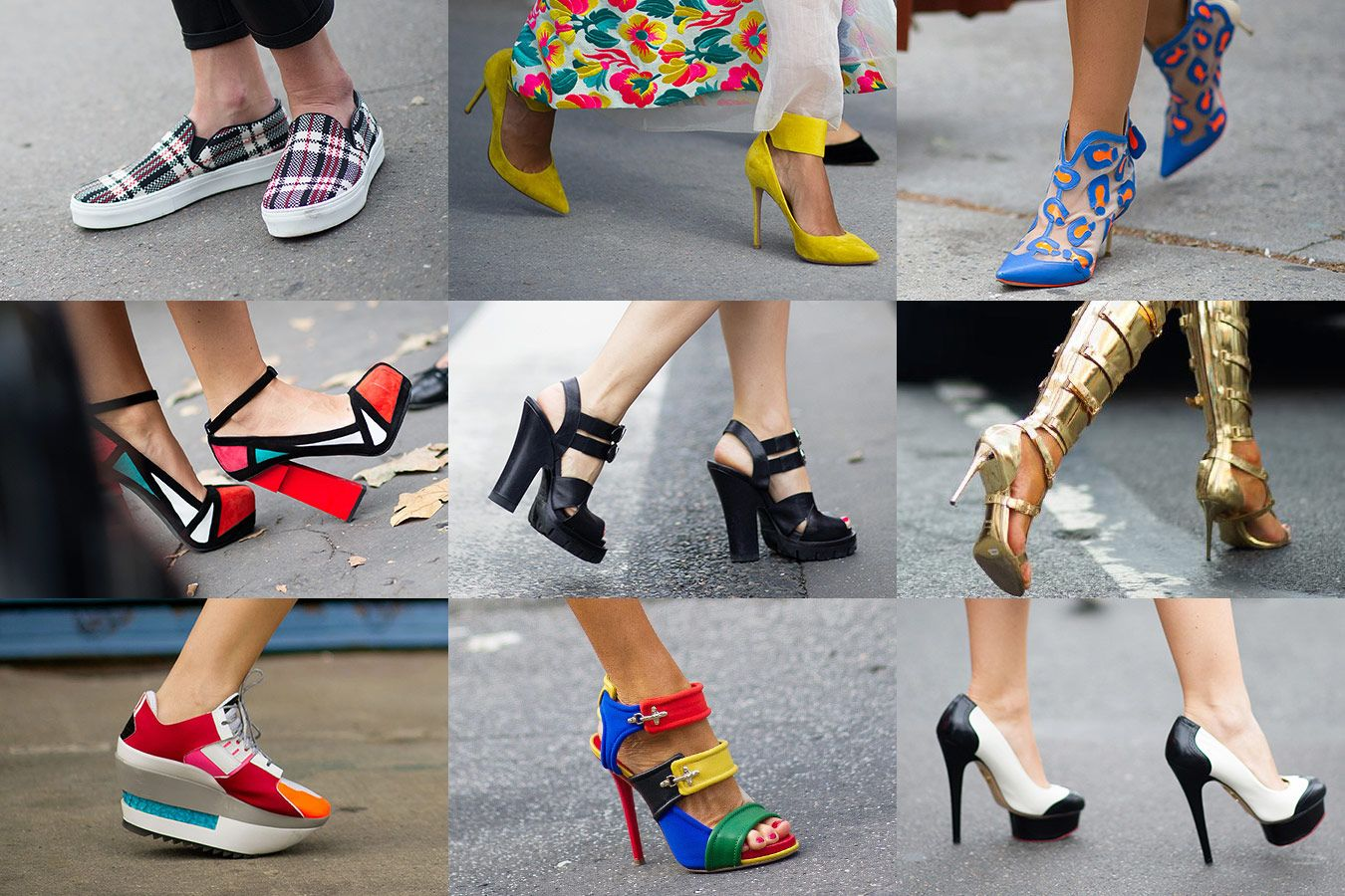 Spring/ Summer Shoe Trend #4: Pointed Toe Shoes. Another alternative observed during these shows were the pointy details, accentuating the cool look and making a real mini-revolution in the world of fashion, presenting some super creative shapes and representations.