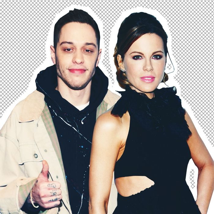 Pete Davidson and Kate Beckinsale.