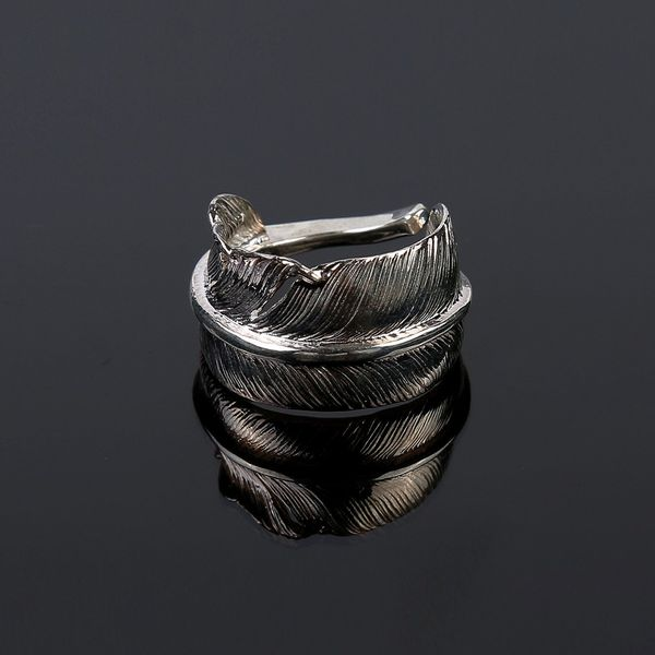 First Arrows Large Feather Ring