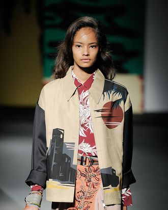 e420f25c3c Modeling newcomer Malaika Firth made news this week when she booked her  first campaign as the face of Prada fall winter 2013. As Jezebel pointed  out