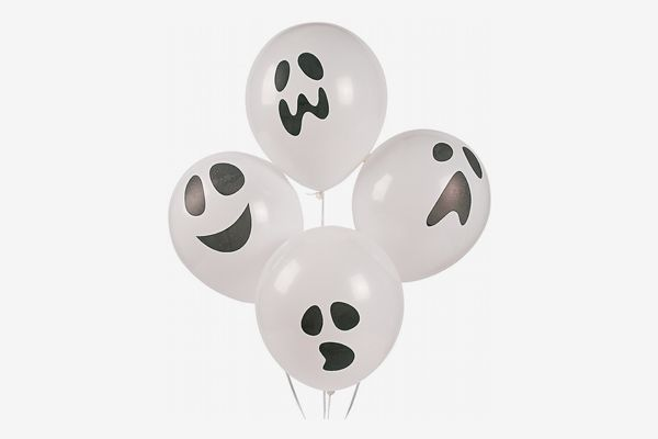Fun Express Latex Halloween Ghost Balloons (48 Count)