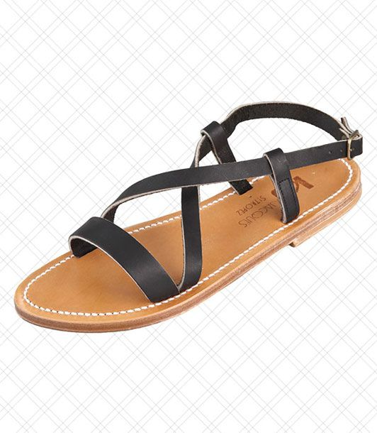 "An understated alternative to the other sandal brand beloved by the Greenwich crowd: Jack Rogers.  <i>$225 at <a href=""http://www.shopbop.com/flavia-band-flat-sandal-k/vp/v=1/845524441921717.htm?folderID=2534374302024265&fm=browse-brand-shopbysize-viewall&colorId=38608"">Shopbop</a></i>"