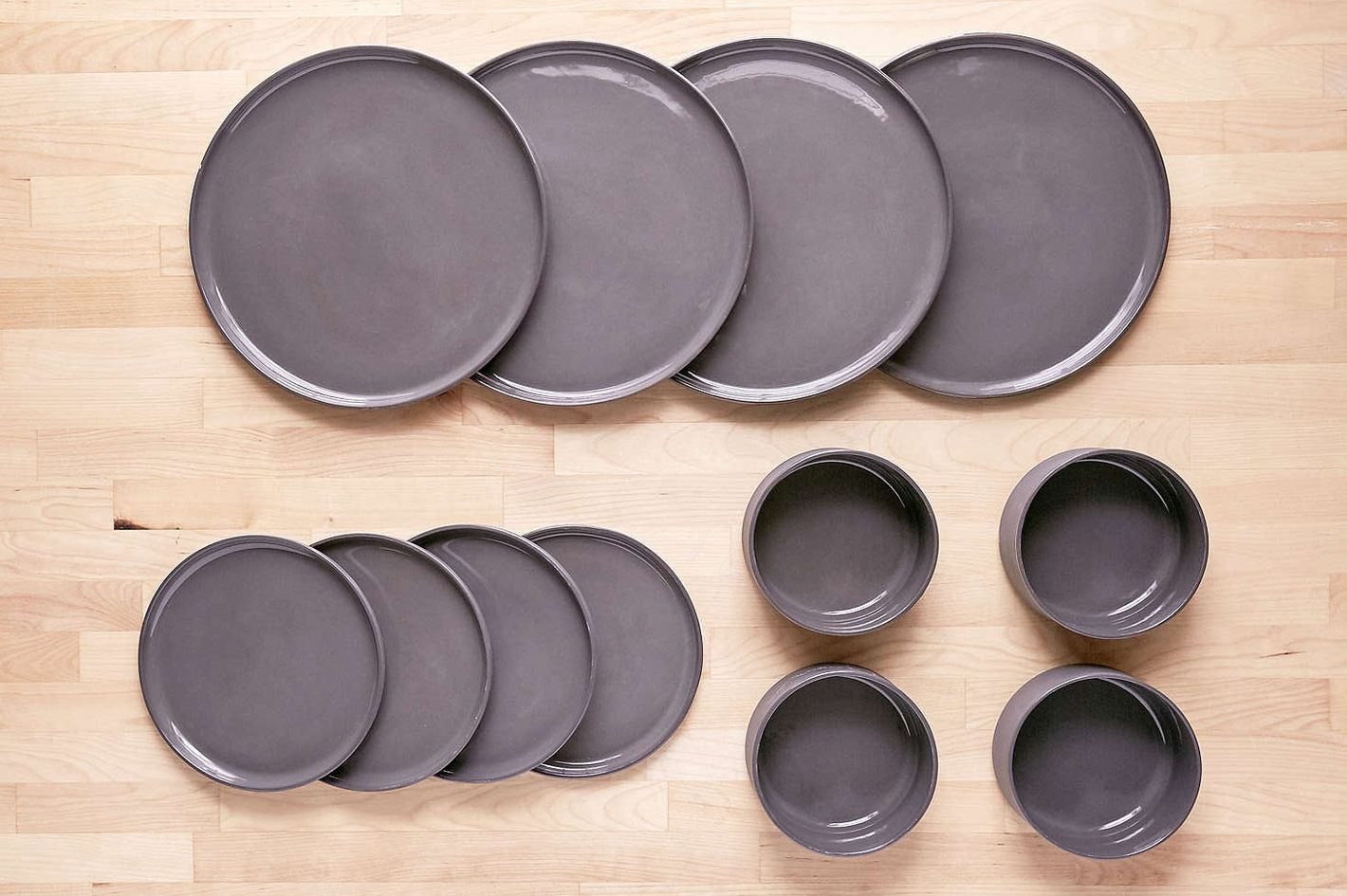 12-Piece Modern Dinnerware Set
