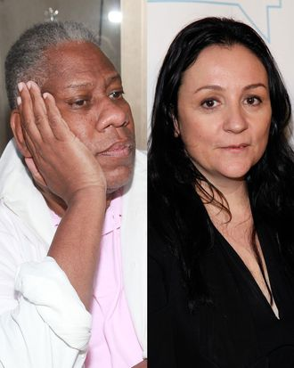André Leon Talley (out?); Kelly Cutrone (in?).