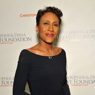 NEW YORK, NY - NOVEMBER 21:  Robin Roberts attends the Christopher & Dana Reeve Foundation's A Magical Evening Gala at Cipriani, Wall Street on November 21, 2013 in New York City.  (Photo by D Dipasupil/Getty Images for Christopher & Dana Reev Foundation)