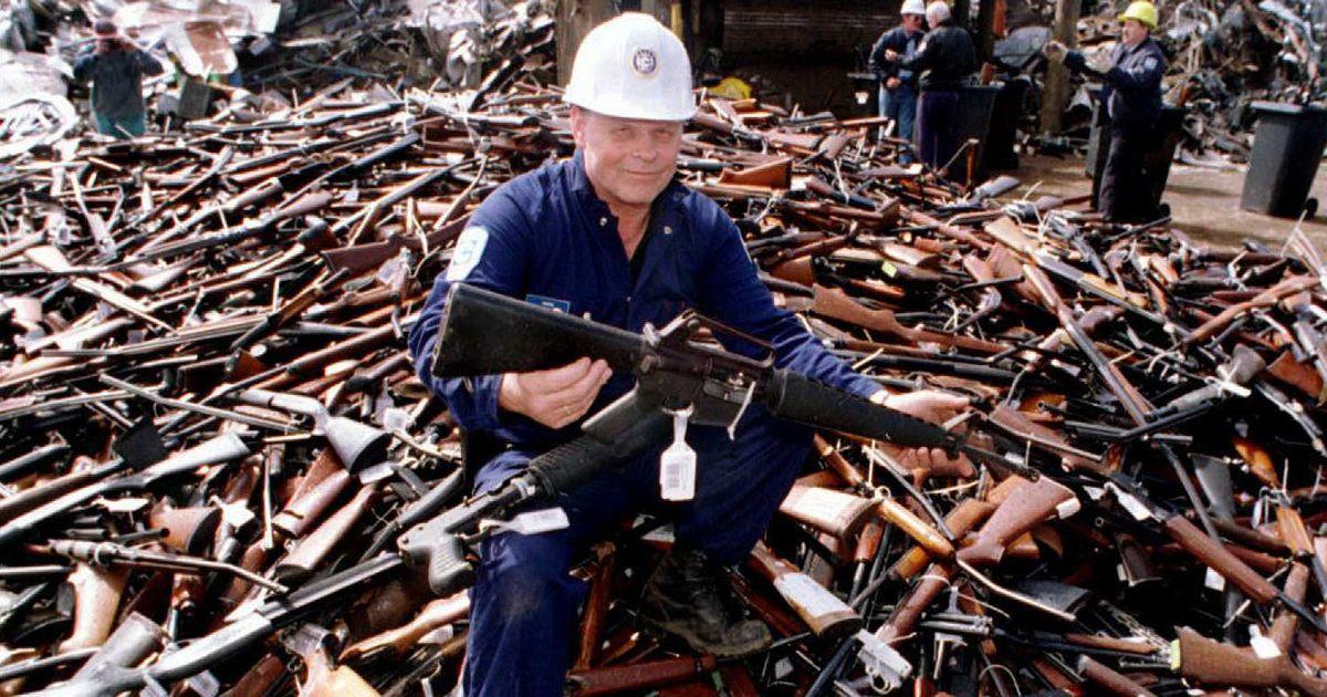 little britain guns