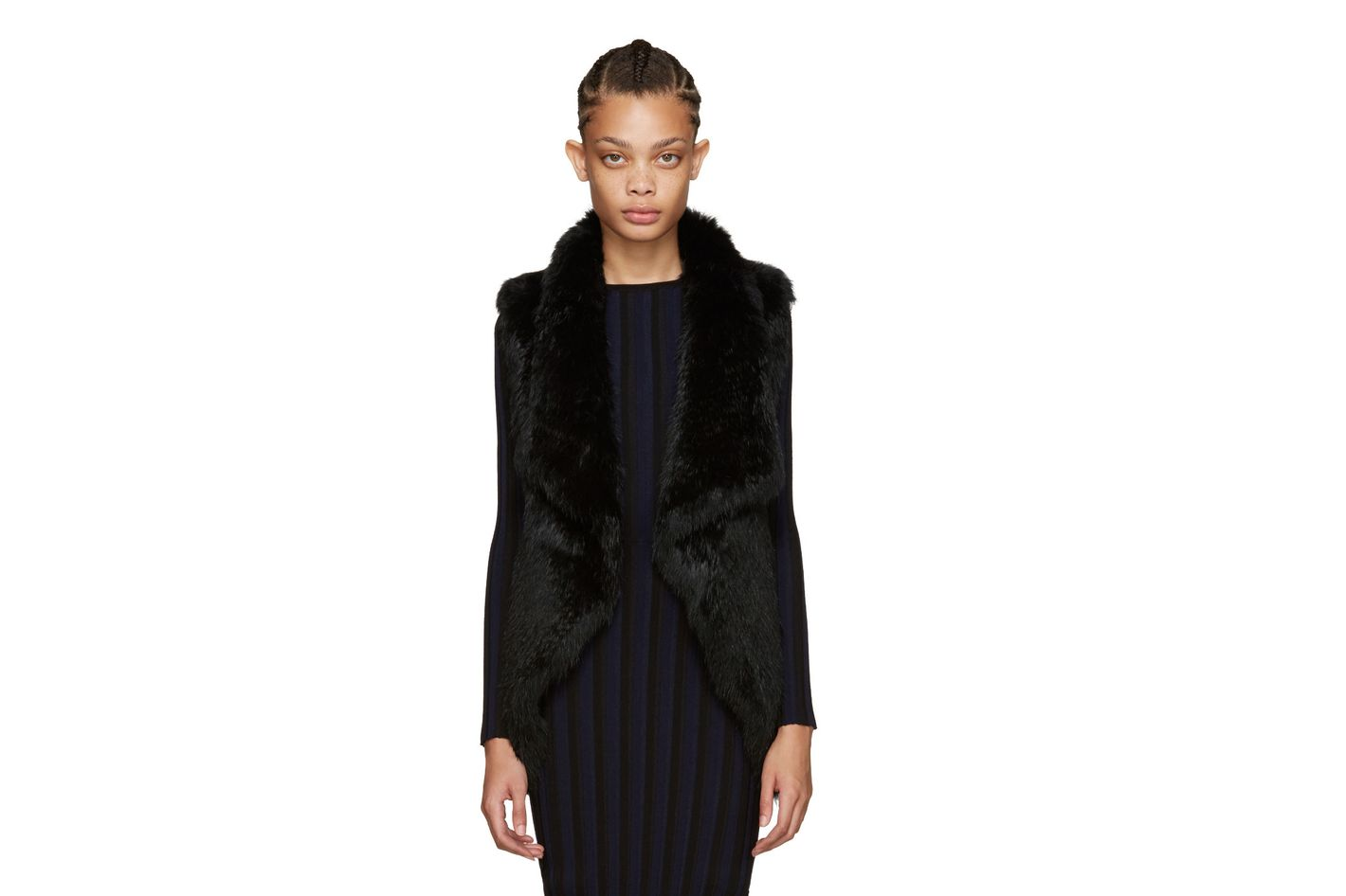 Yves Salomon Fur Vest