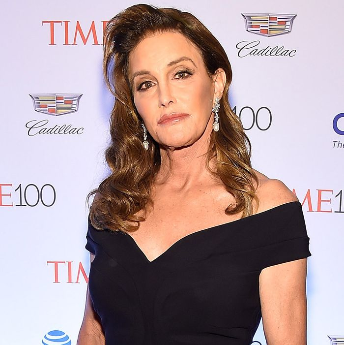 Caitlyn Jenner at the <i>Time</i> 100 Gala.