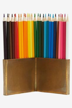 Jayson Home Brass Pencil Holder