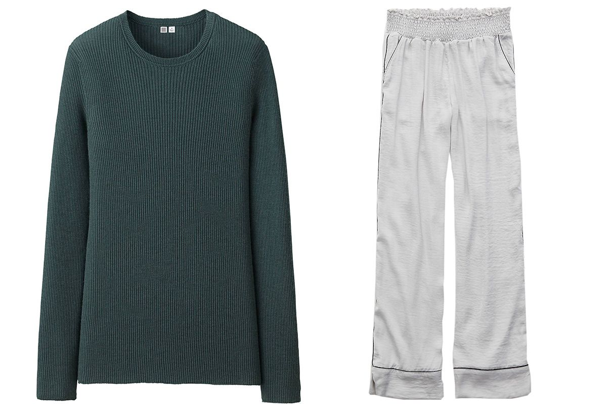 Uniqlo U cashmere ribbed sweater