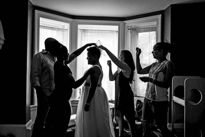 Nymag Real Weddings: Real Wedding Album: A Raucous Hometown Night