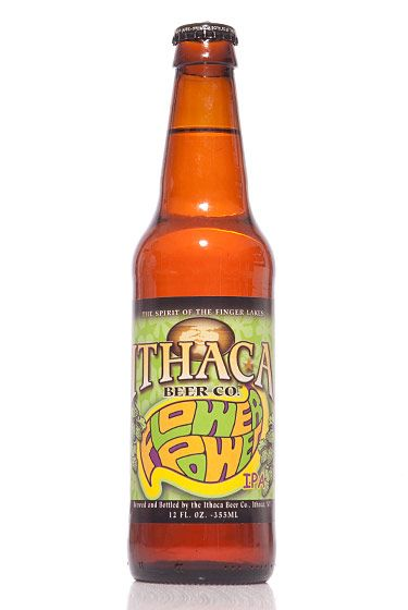 "Ithaca Beer Company (New York)<br>$14.49 for six-pack<br><strong>Type:</strong> IPA<br><strong>Tasting notes:</strong> ""A clover-honey-hued IPA with a tropical nose."" <br>—Richard and John Zawisny, owners, Eagle Provisions<br> <br>"