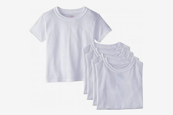 Hanes 5-Pack Boys' Crew T-Shirt