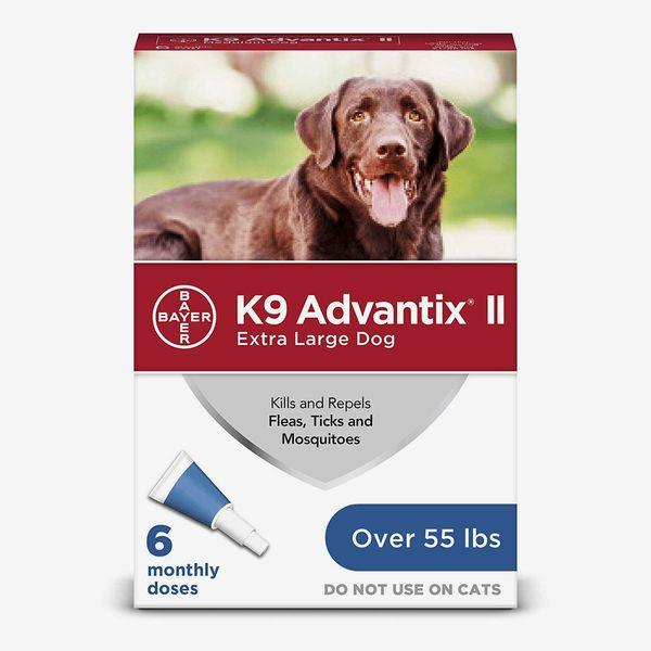 K9 Advantix II Flea, Tick and Mosquito Prevention for Dogs, 6 Doses