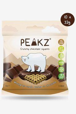 Peakz Crunchy Chocolate Squares