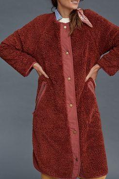 Margot Reversible Sherpa Coat