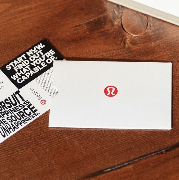 Lululemon E--Gift Card