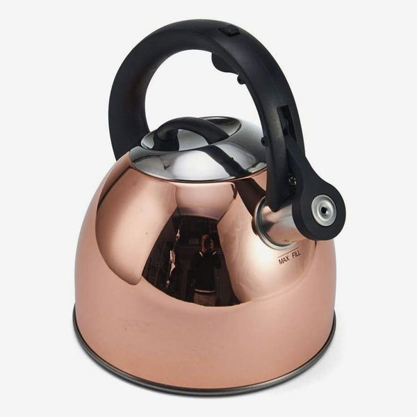 Copco Copper Plated Stainless Steel Tea Kettle