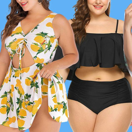 9e0ce02571 I Tried 24 Plus-Size Bathing Suits From Amazon and These Were My 7 Favorites