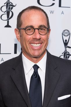 NEW YORK, NY - OCTOBER 01:  Jerry Seinfeld  arrives at 55th Annual CLIO Awards at Cipriani Wall Street on October 1, 2014 in New York City.  (Photo by Dave Kotinsky/Getty Images)