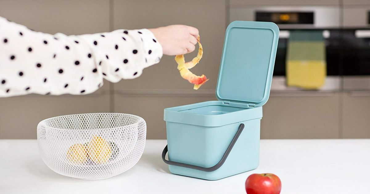 13 Stylish Compost Bins For Your Small Kitchen 2018 The Strategist