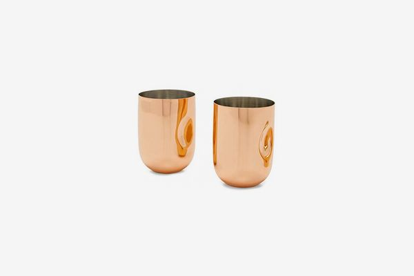 Tom Dixon Copper Moscow Mule Cups, Set of 2