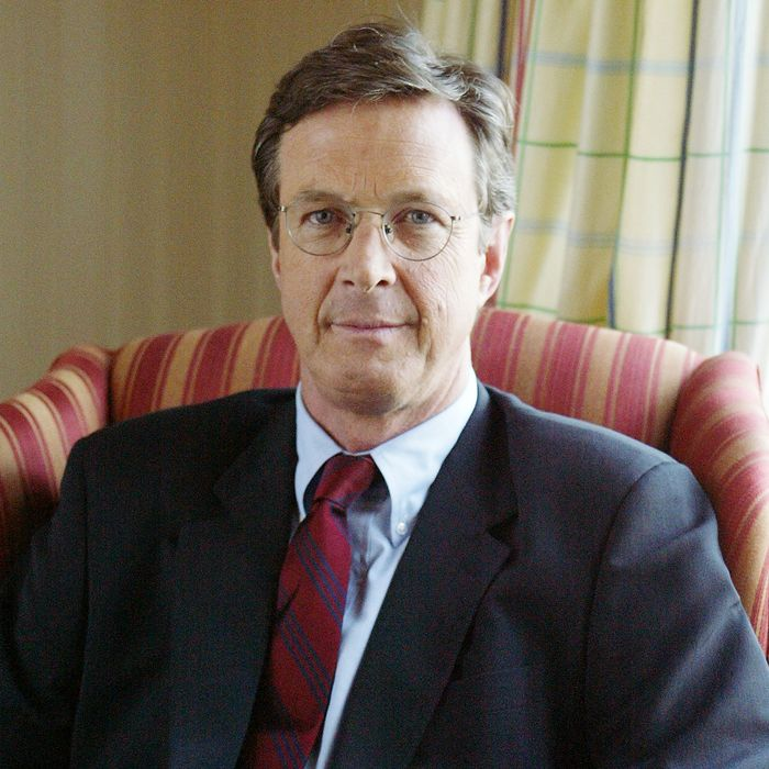 Author Michael Crichton at the Pierre Hotel. His latest nove