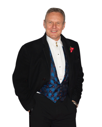 07 Nov 2013, London, England, UK --- Arrivals for the Collars & Coats Gala Ball at Battersea Evolution. Pictured: Anthony Head --- Image by ? Splash News/Splash News/Corbis