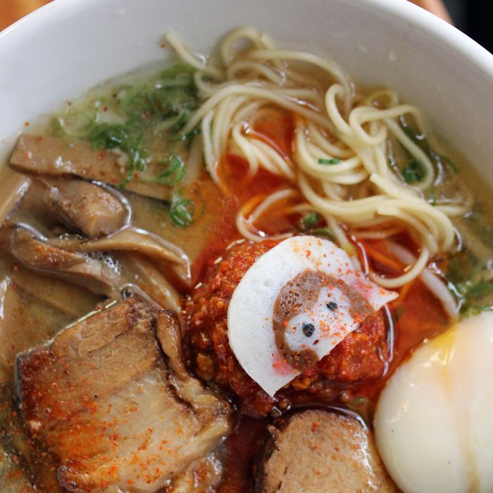Big year for noodle soup: ramen at Hinomaru.