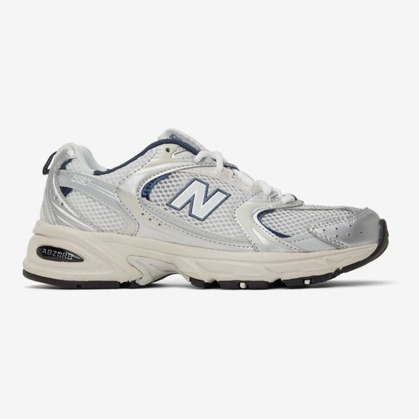 New Balance Women's 530 Sneakers (White/Navy)