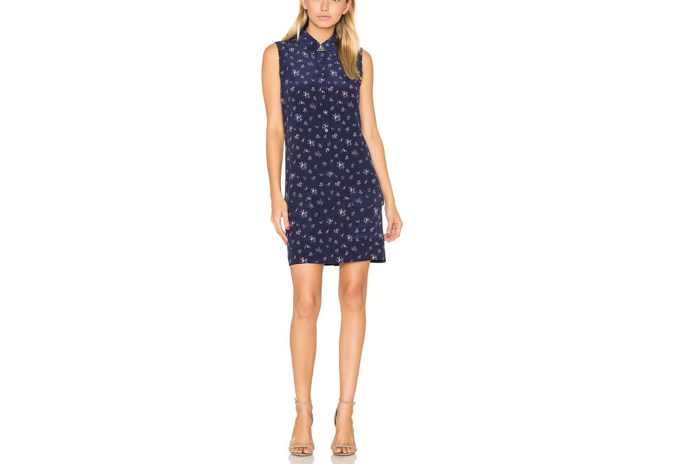 Equipment Lucida Floral Print Dress