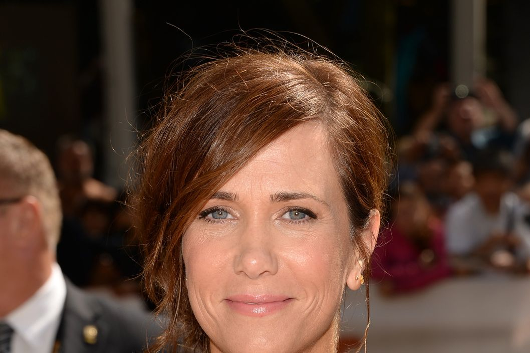 "TORONTO, ON - SEPTEMBER 06:  Actress Kristen Wiig arrives at ""Hateship Loveship"" Premiere during the 2013 Toronto International Film Festival at Princess of Wales Theatre on September 6, 2013 in Toronto, Canada.  (Photo by Jason Merritt/Getty Images)"