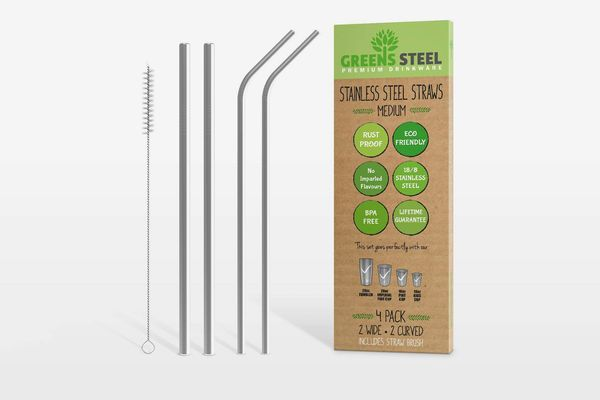 Stainless-Steel Straw Set