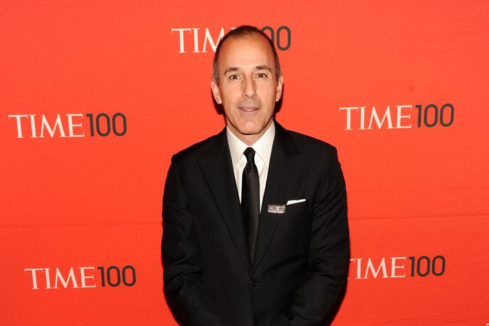 Matt Lauer attends the TIME 100 Gala celebrating TIME'S 100 Most Infuential People In The World at Jazz at Lincoln Center on April 24, 2012 in New York City.