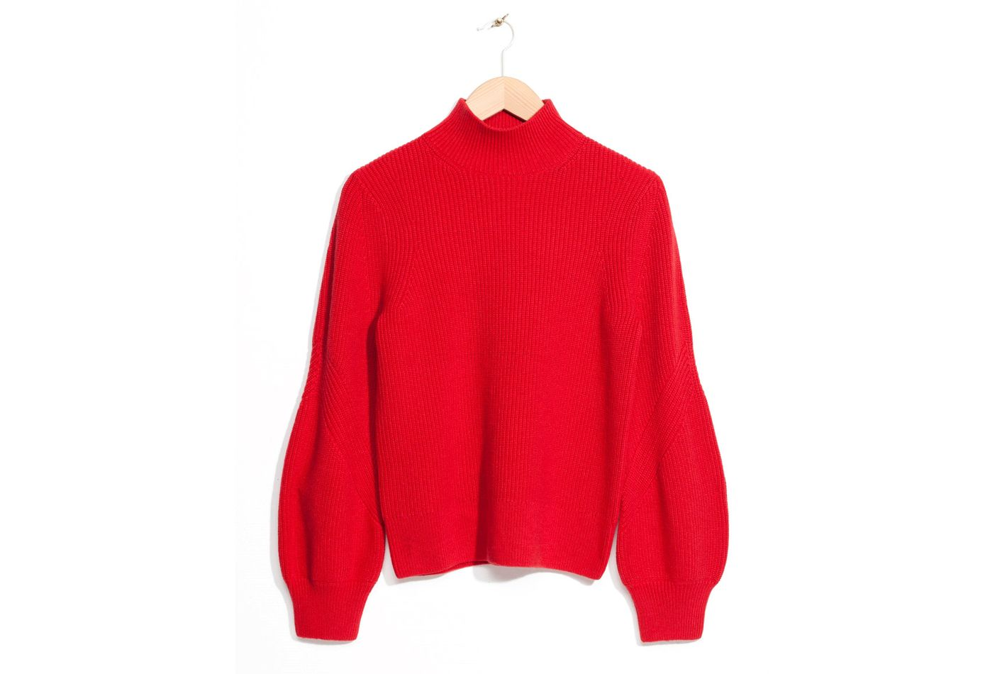 & Other Stories Puffy Sleeve Sweater