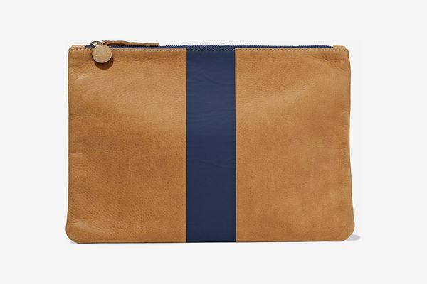 Clare V. Two-Toned Pouch