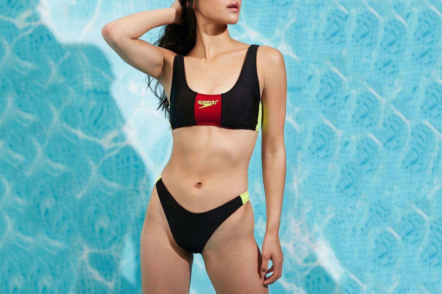Forever 21 x Speedo Graphic Bikini Top