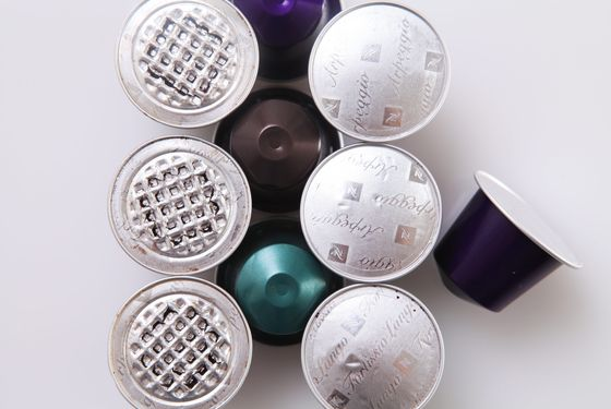 The kinds of Nespresso pods that consumers are familiar with.