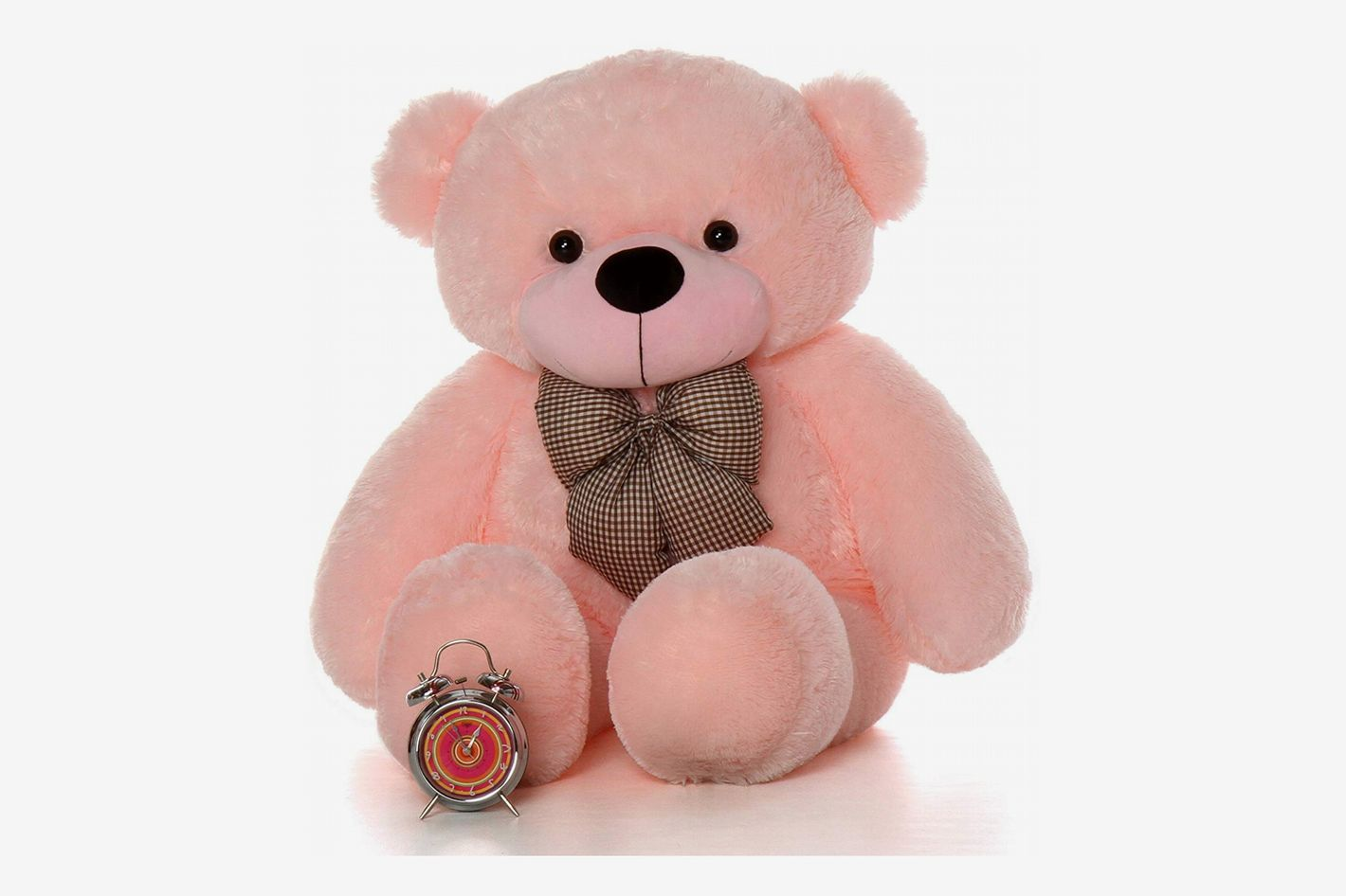 Giant Teddy - Plush Teddy Bear, 4 Feet Tall, Pink