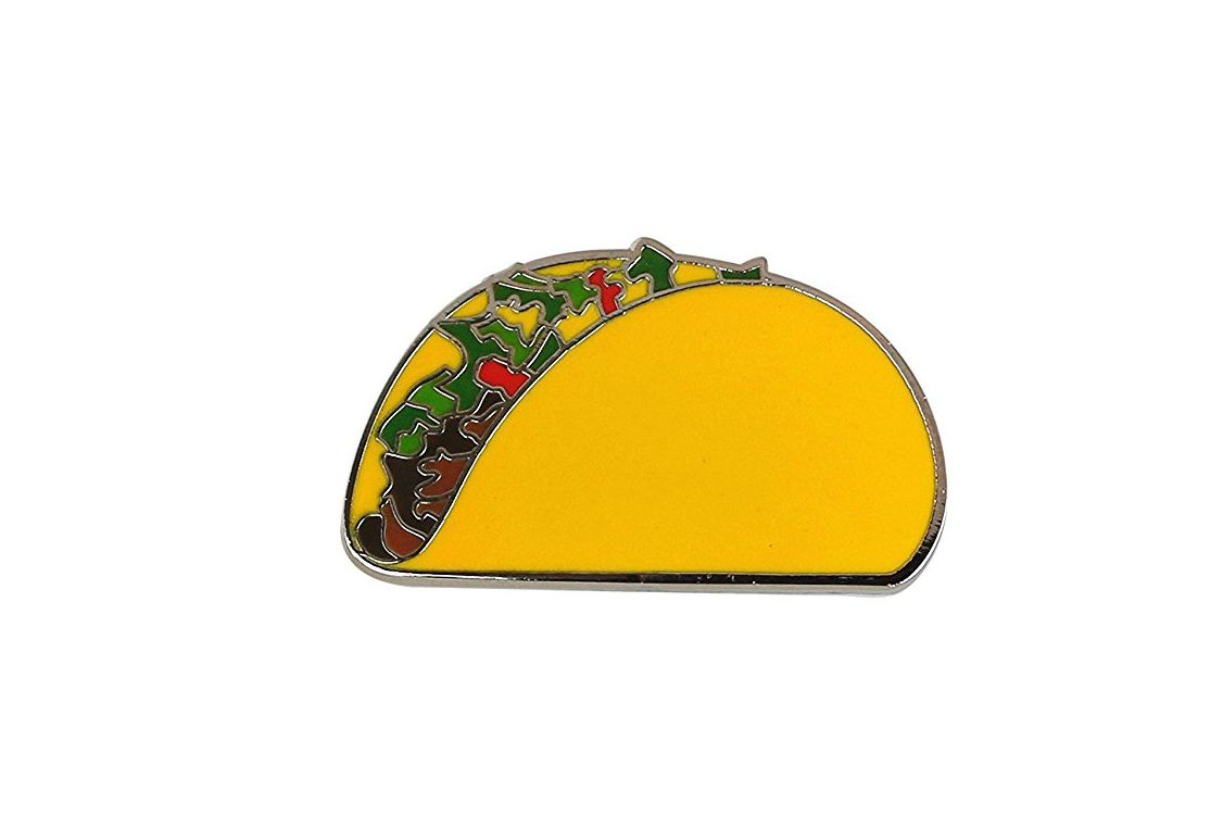 Forge Taco Lapel Pin