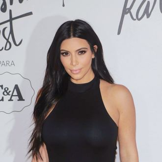 Kim Kardashian Presents New Fashion Collection In Sao Paulo