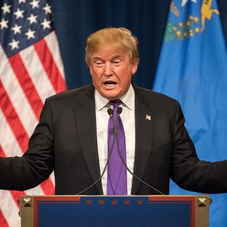 Presidential Candidate Donald Trump Holds Nevada Caucus Night Rally