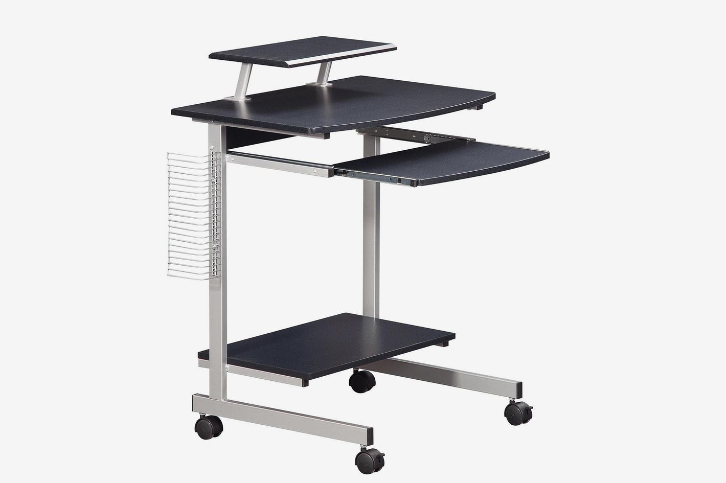 Techni Mobili Mobile & Compact Complete Computer Workstation Desk